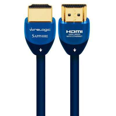 Sapphire 3 ft. HDMI Cable - Blue