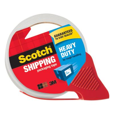 Scotch 1.88 in. x 65.6 yds. (48mm x 60m), Heavy-Duty Shipping Packaging Tape with Refillable Dispenser
