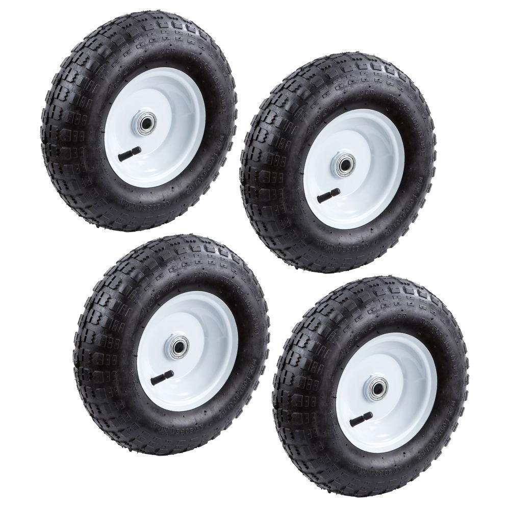 13 in. Pneumatic Tire (4-Pack)