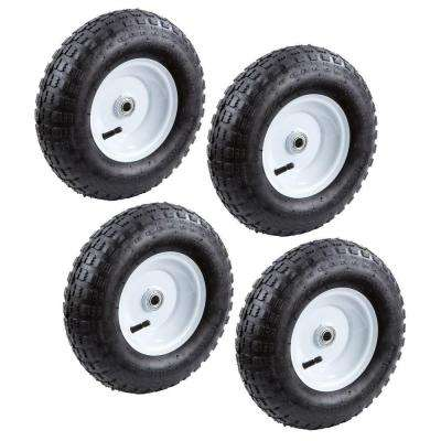 13 in. Pneumatic Tire (4-Pack)