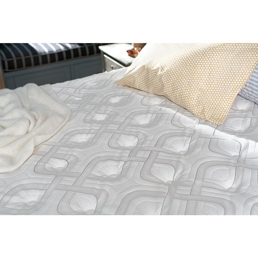 internet 8 sealy response premium 16 in full cushion firm euro pillowtop mattress set