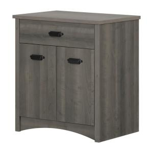 Gascony Gray Maple Storage Cabinet