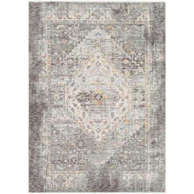 Congressional Grey 3 ft. 3 in. x 5 ft. Oriental Area Rug