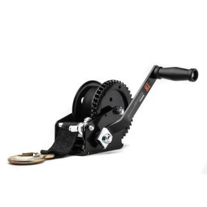 TR Industrial 1200 lb. Trailer Winch with Pre-Installed 20 ft. Strap and Hook by TR Industrial