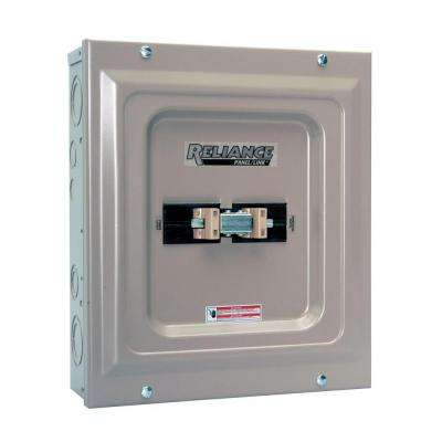 60 Amp Utility / Generator Transfer Switch