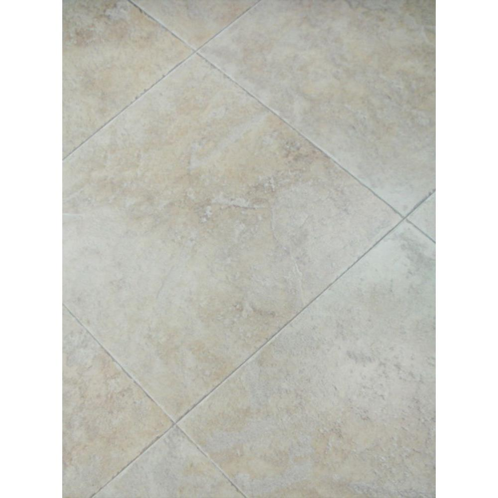 null Ivory Porcelain Laminate Flooring - 5 in. x 7 in. Take Home Sample-DISCONTINUED