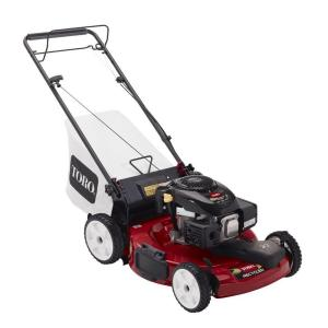 Toro 22 inch Kohler Low Wheel Variable Speed Gas Walk Behind Self Propelled Lawn Mower by Toro