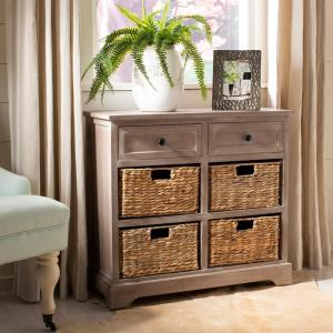 Herman White Washed Chest