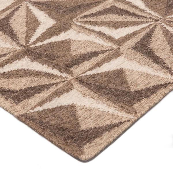 Solo Rugs Grit And Ground Samoa Brown 9 Ft X 12 Ft Hand Knotted Area Rug Gg010502027 The Home Depot