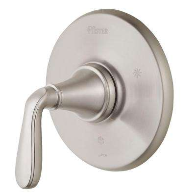 Northcott Single-Handle Valve Trim Kit in Brushed Nickel (Valve Not Included)
