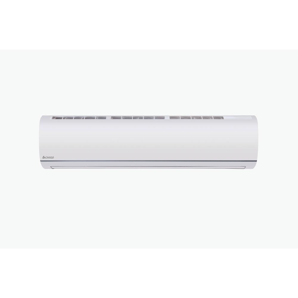 CHIGO ENERGY STAR 9000 BTU 3/4 Ton Ductless Mini Split Air Conditioner and Heat Pump Variable Speed Inverter - 115V/60Hz