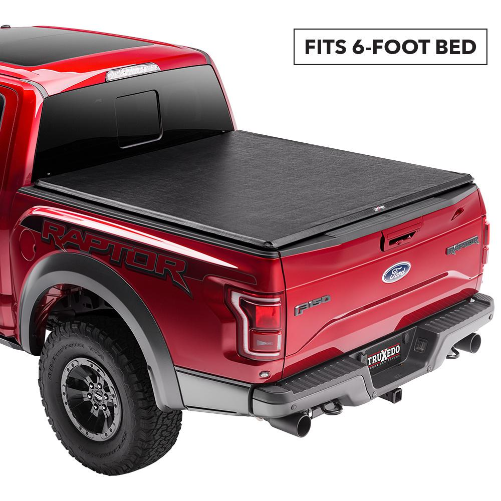 Truxedo Truxport Tonneau Cover 16 19 Toyota Tacoma 6 Ft Bed 257001 The Home Depot
