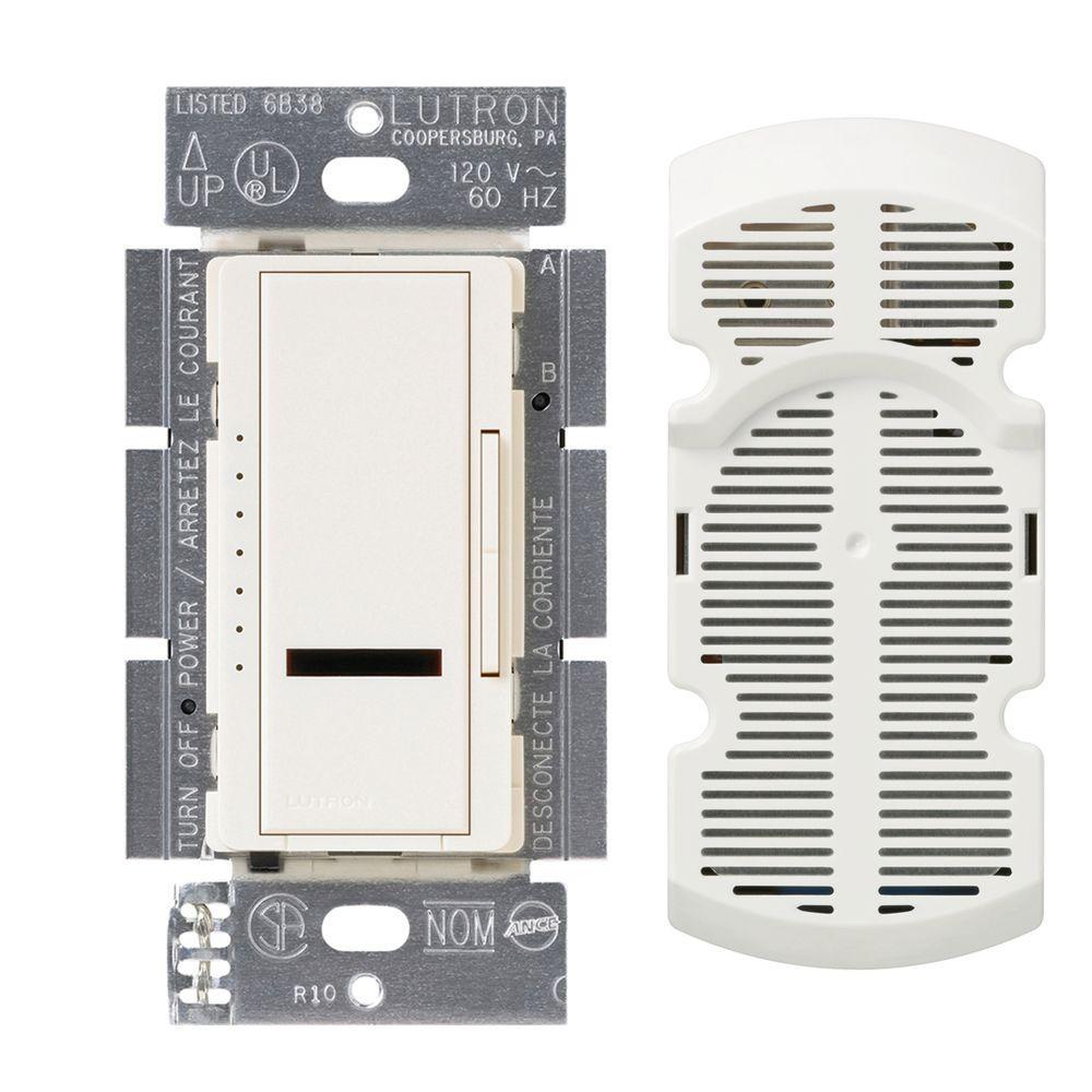 Maestro IR Multi-Location 7-Speed Digital Fan Control - Biscuit
