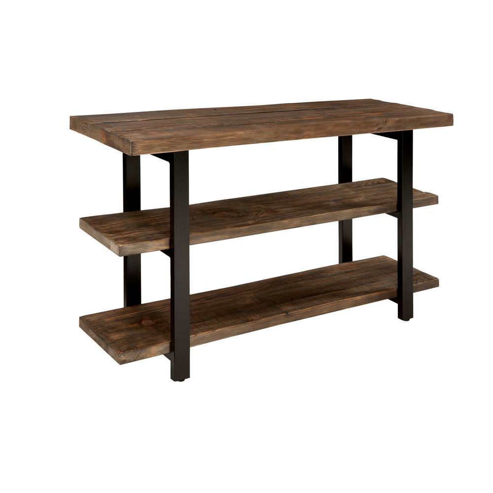 Pomona Rustic Natural Console Table
