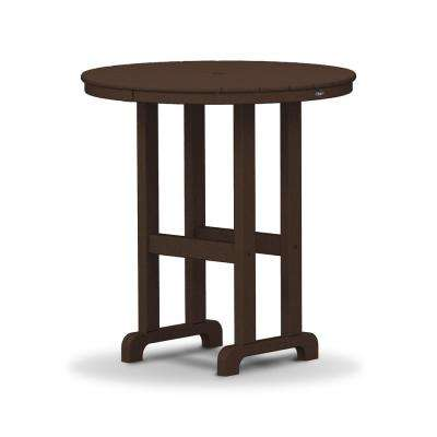 Monterey Bay 36 in. Vintage Lantern Round Patio Counter Table