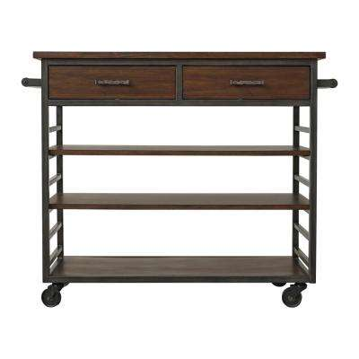 Wright Natural Steel Grey Utility Cart
