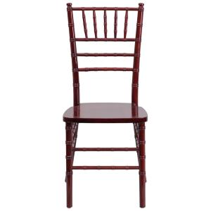 internet flash furniture hercules series mahogany wood chiavari chair