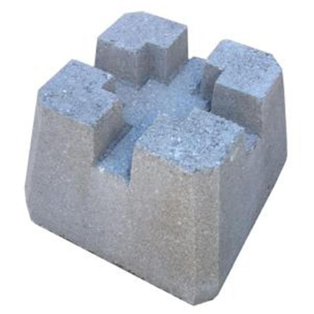 10 in. x 10 in. x 10 in. Concrete Deck Block-55N1AN - The Home Depot