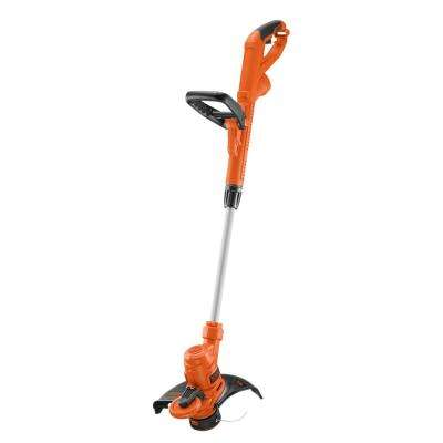 14 in. 6.5-Amp Corded Electric Straight Shaft Single Line 2-in-1 String Grass Trimmer/Lawn Edger