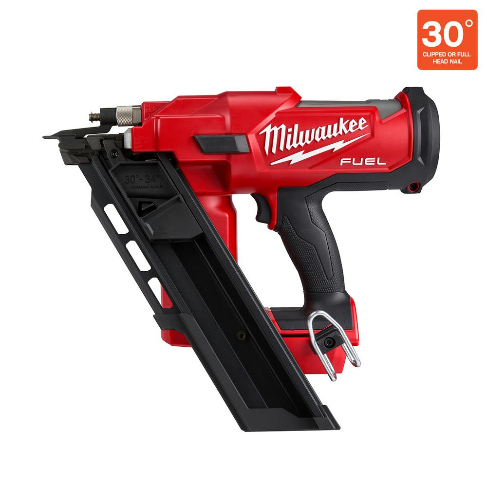 Milwaukee M18 FUEL 3-1/2 in. 18-Volt 30-Degree Lithium-Ion Brushless Cordless Framing Nailer (Tool-Only)