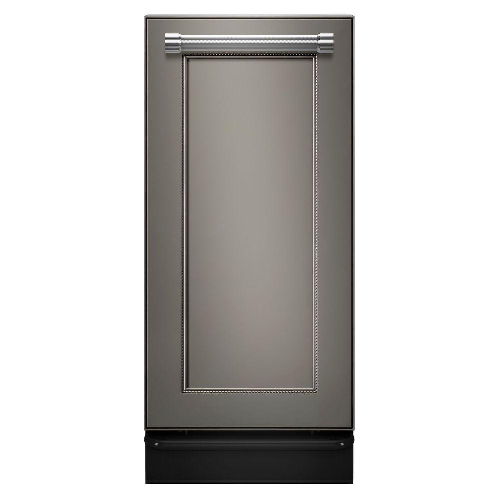 KitchenAid 15 in. Built-In Trash Compactor in Panel-Ready