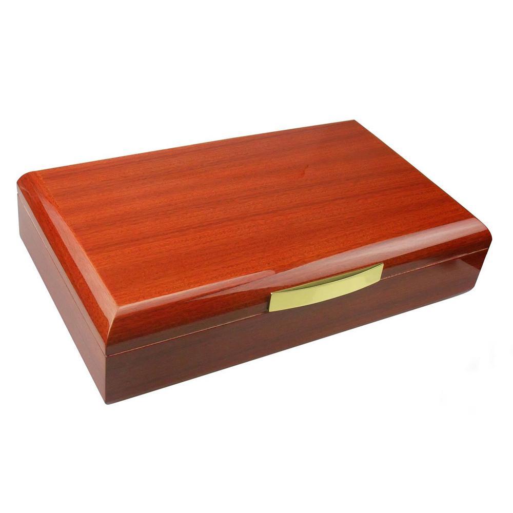 Tirol Rosewood Lacquered Cigar Humidor