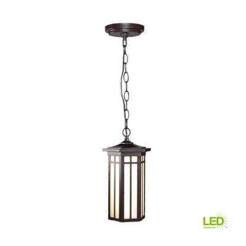 LED Outdoor Hanging Antique Bronze Light