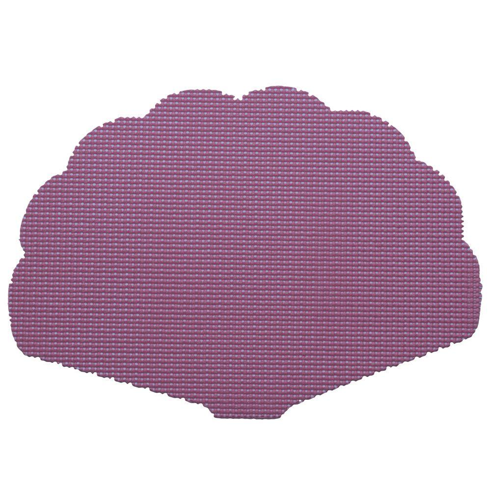 Kraftware Fishnet Shell Placemat in Purple (Set of 12)