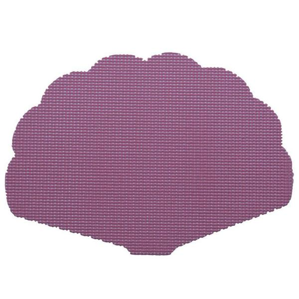 Fishnet Shell Placemat in Purple (Set of 12)