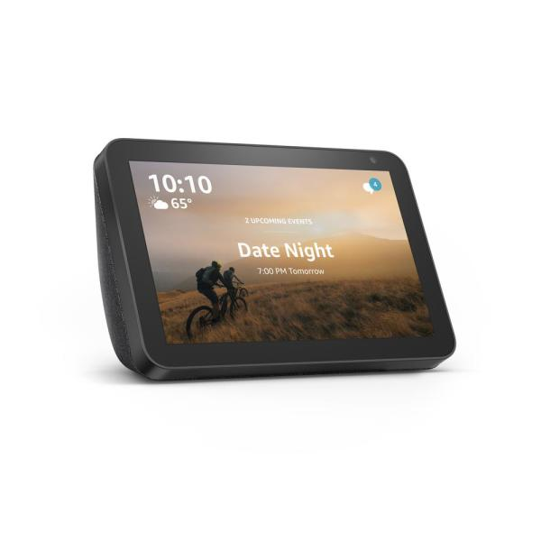 8 in. Echo Show in Charcoal