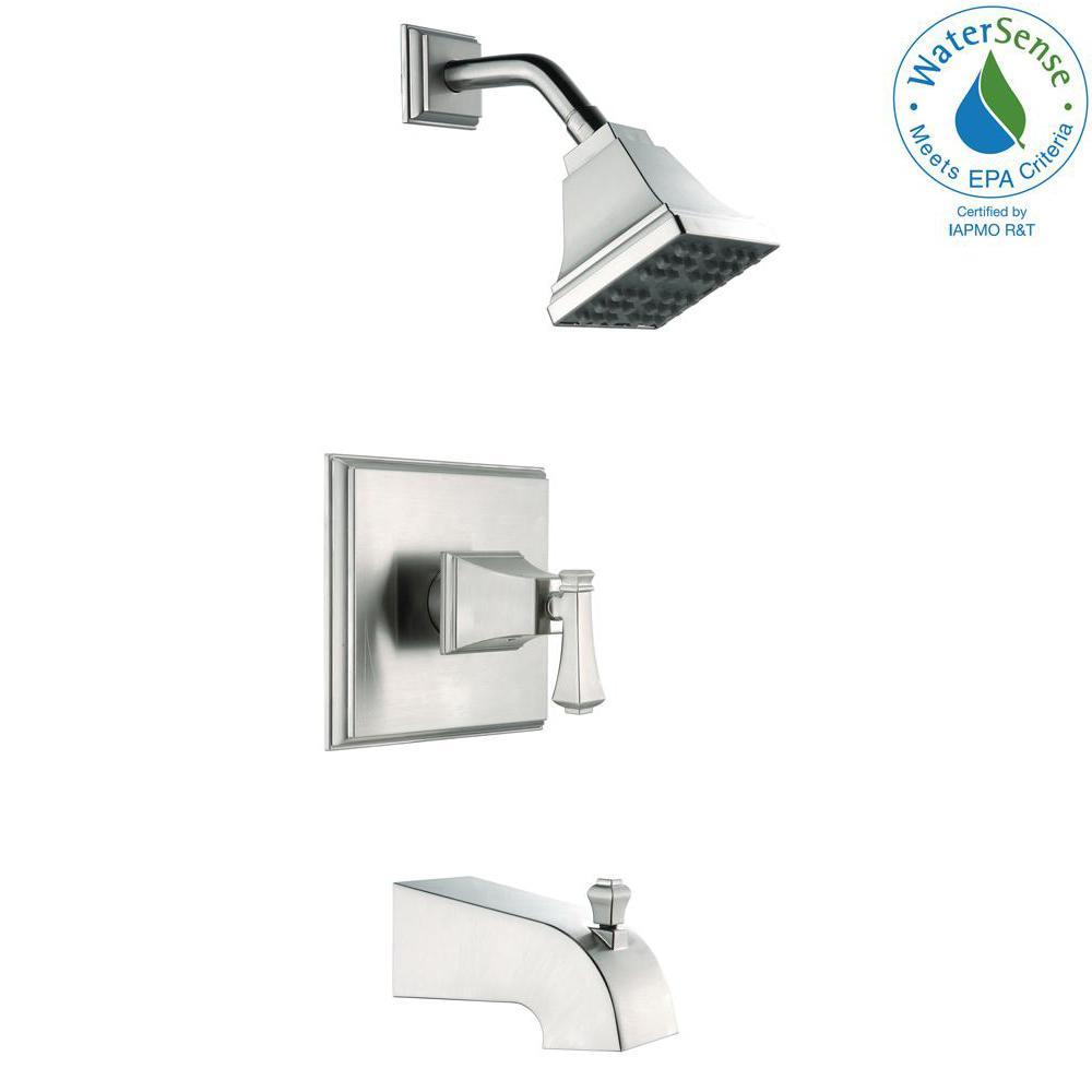 Pegasus Exhibit WaterSense Single-Handle 1-Spray Tub and Shower ...