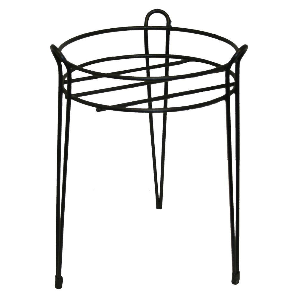 Black Basic Metal Plant Stand