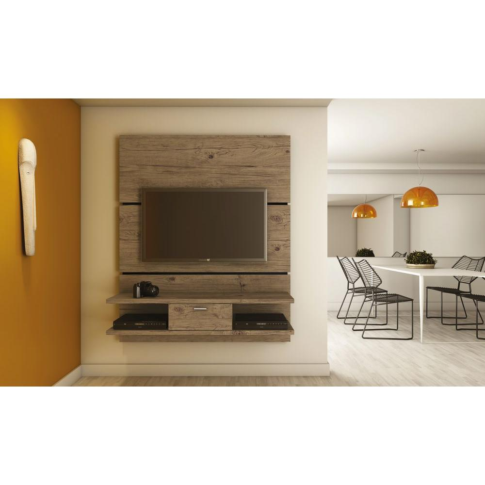 Manhattan Comfort Ellington Nature Storage Entertainment Center