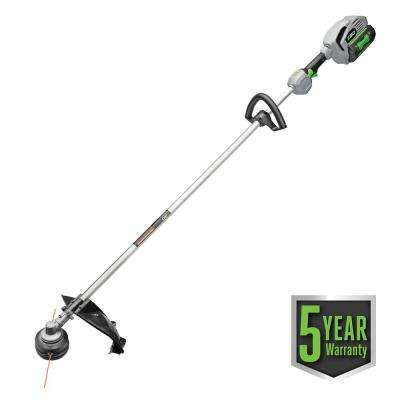 56-Volt Lithium-Ion Cordless Electric 15 in. Rear Motor String Trimmer Kit - 5.0Ah Battery, 210W Charger Included