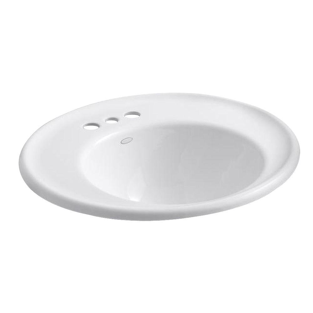 Kohler Iron Works Wall Mount Cast Iron Bathroom Sink In White K 2822 4w 0 The Home Depot