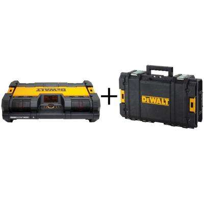 ToughSystem Music and Charger with Bonus Toolbox
