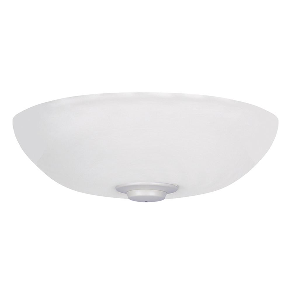 Harlow Opal Matte 3-Light Summer White Ceiling Fan Light Kit