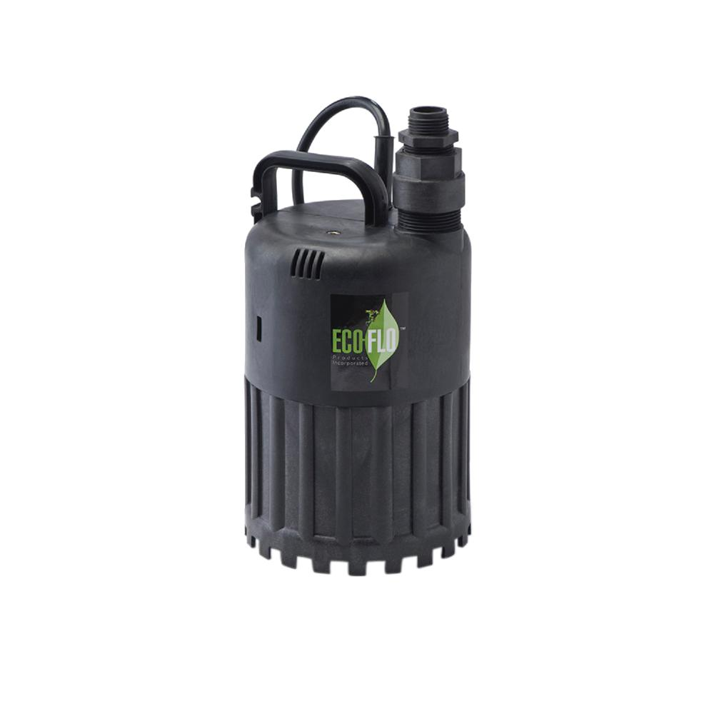ECO FLO 1/3 HP Submersible Utility Pump
