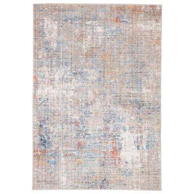 Ostara Multicolor 8 ft. 10 in. x 12 ft. Abstract Rectangle Rug