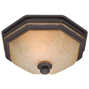 Hunter Belle Meade Decorative 80 CFM Ceiling Bath Fan with Snowflake Glass by Hunter