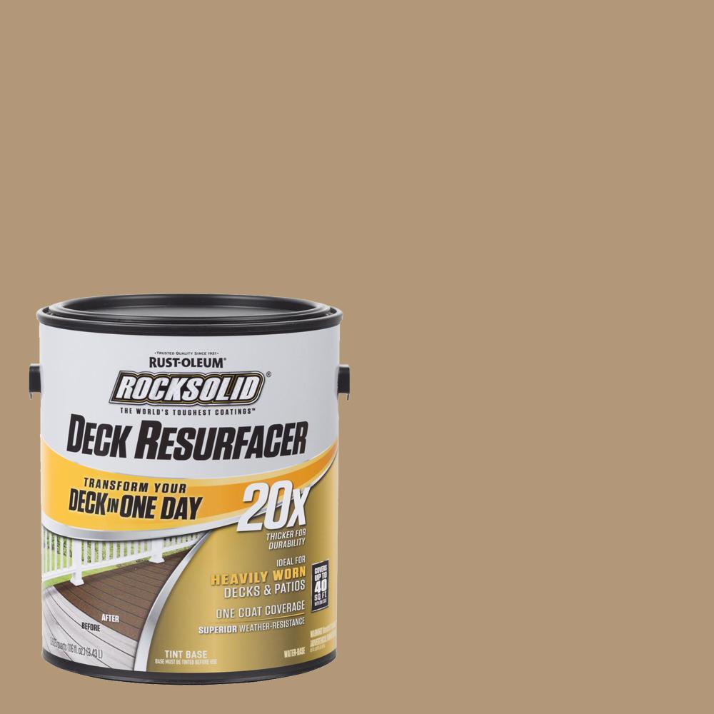 Rust-Oleum RockSolid 1 gal. Sandstone Exterior 20X Deck Resurfacer