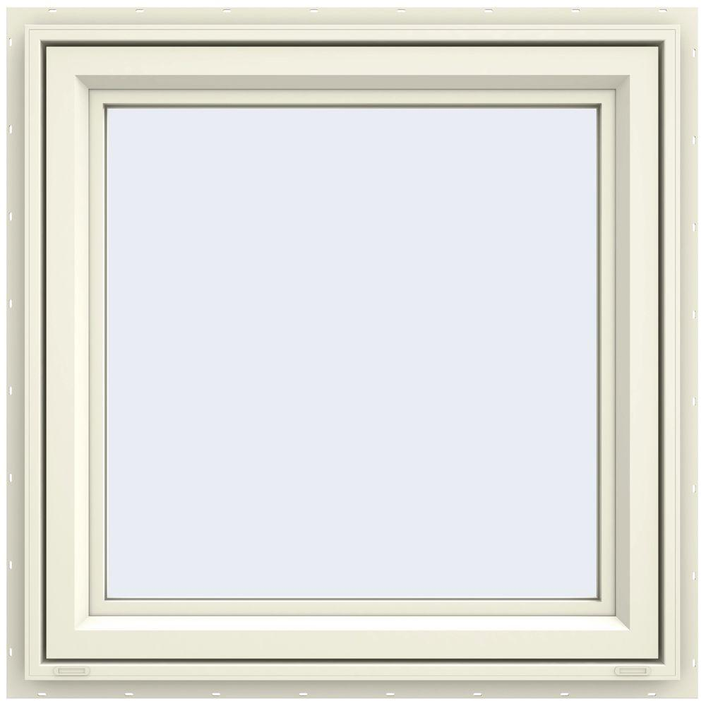 29.5 in. x 29.5 in. V-4500 Series Left-Hand Casement Vinyl Window