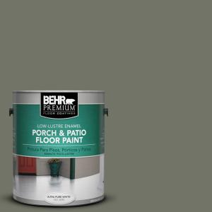 BEHR Premium 1 gal. #BXC-44 Pepper Mill Low-Lustre Porch and Patio Floor Paint by