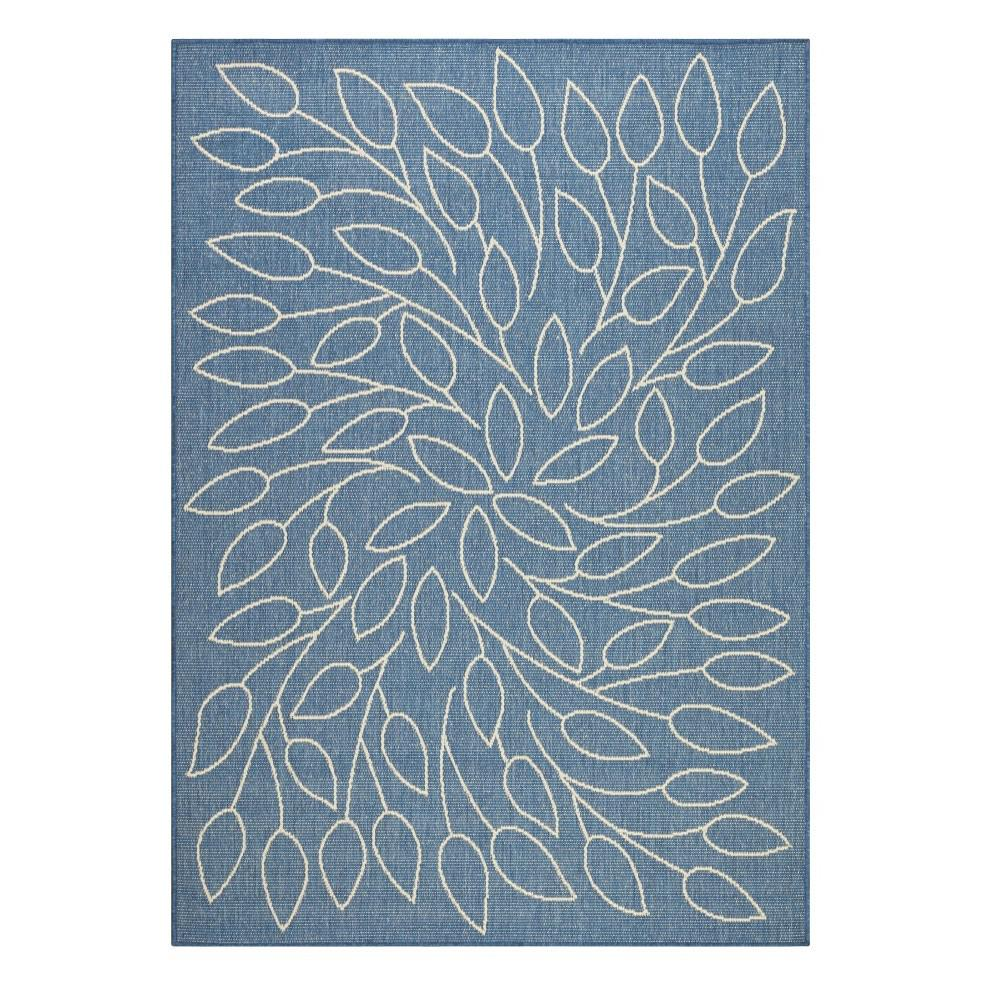Home decorators collection persimmon blue champagne 8 ft for Home decorators rugs blue