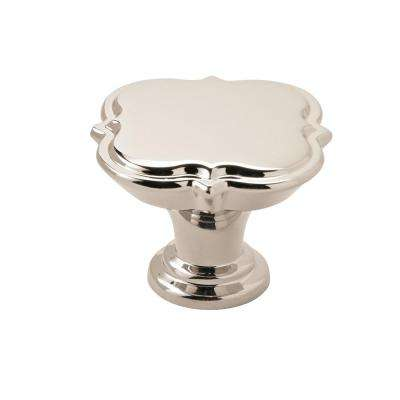 Grace Revitalize 1-3/4 in. Dia (44 mm) Polished Nickel Cabinet Knob