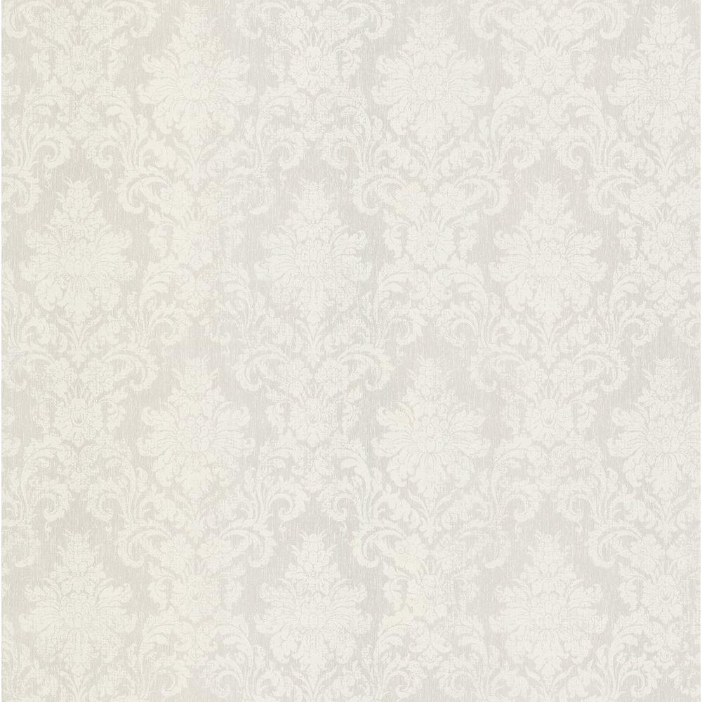 Brewster 8 in. W x 10 in. H Damask Wallpaper Sample-DISCONTINUED