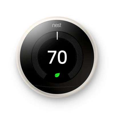Nest Learning Thermostat 3rd Gen in White 10-pack