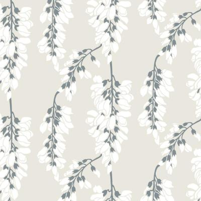 Nomad Collection Heart Breaker in Linen Removable and Repositionable Wallpaper