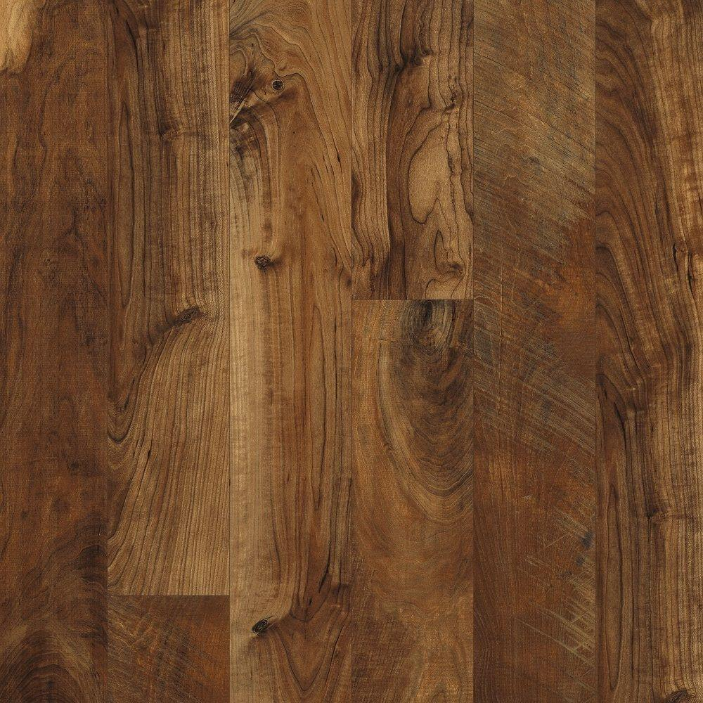 Hampton Bay Maple Grove Saffron 12 Mm Thick X 6 3 16 In