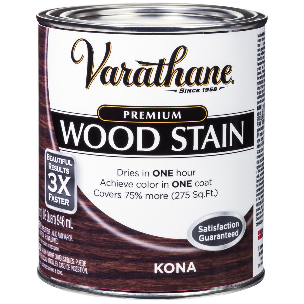Varathane 1 qt. Kona Premium Fast Dry Interior Wood Stain (2-Pack)